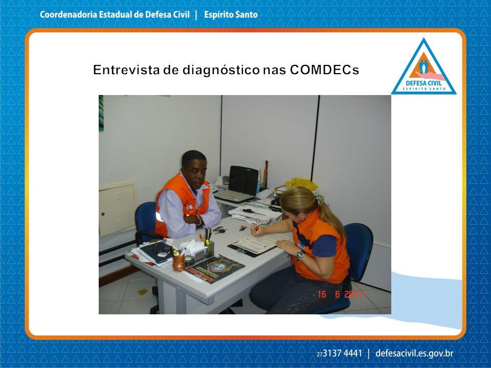Entrevista de diagnóstico nas COMDECs