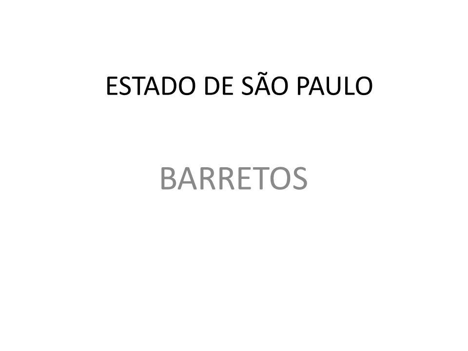 ESTADO DE SÃO PAULO BARRETOS