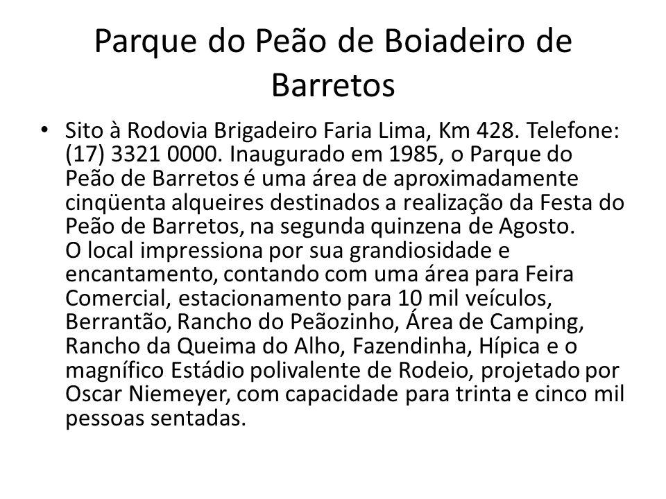 Parque do Peão de Boiadeiro de Barretos