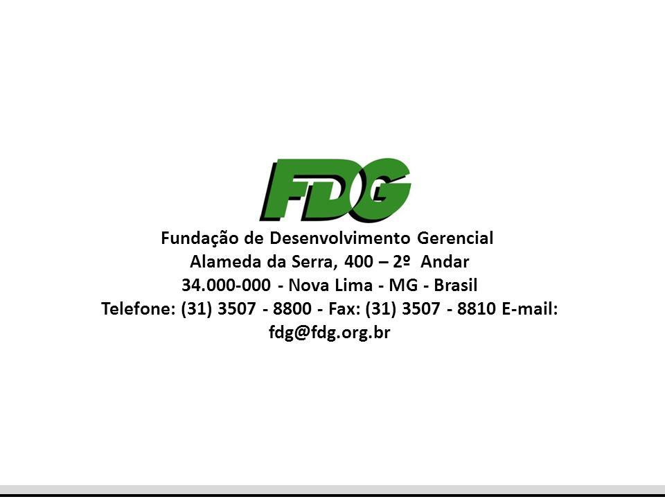 Fundação de Desenvolvimento Gerencial Alameda da Serra, 400 – 2º Andar
