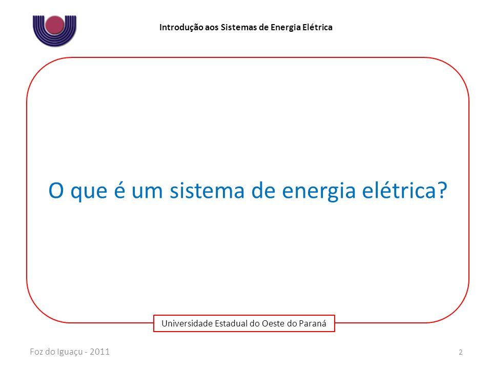 O que é um sistema de energia elétrica