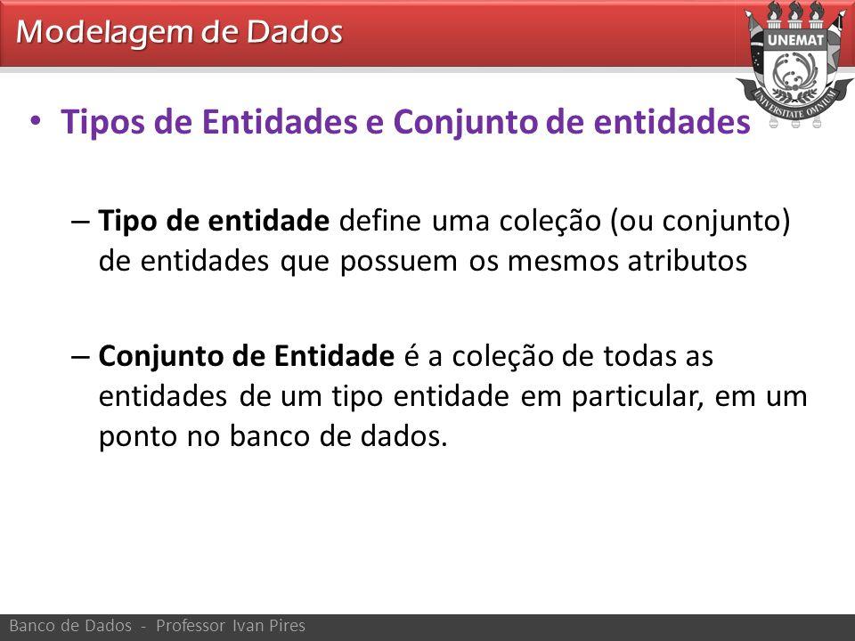 Tipos de Entidades e Conjunto de entidades