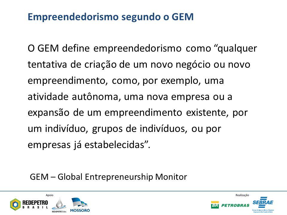 Empreendedorismo segundo o GEM