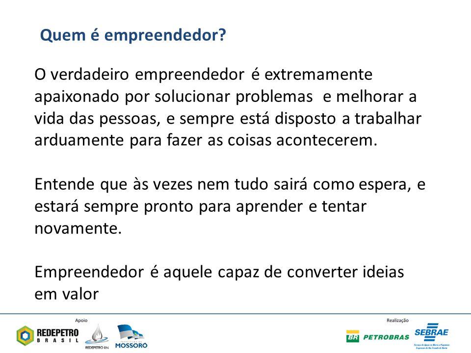 Quem é empreendedor
