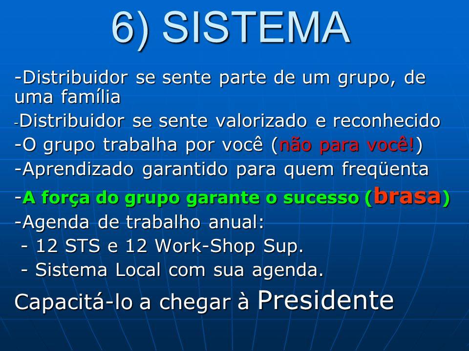 6) SISTEMA Capacitá-lo a chegar à Presidente