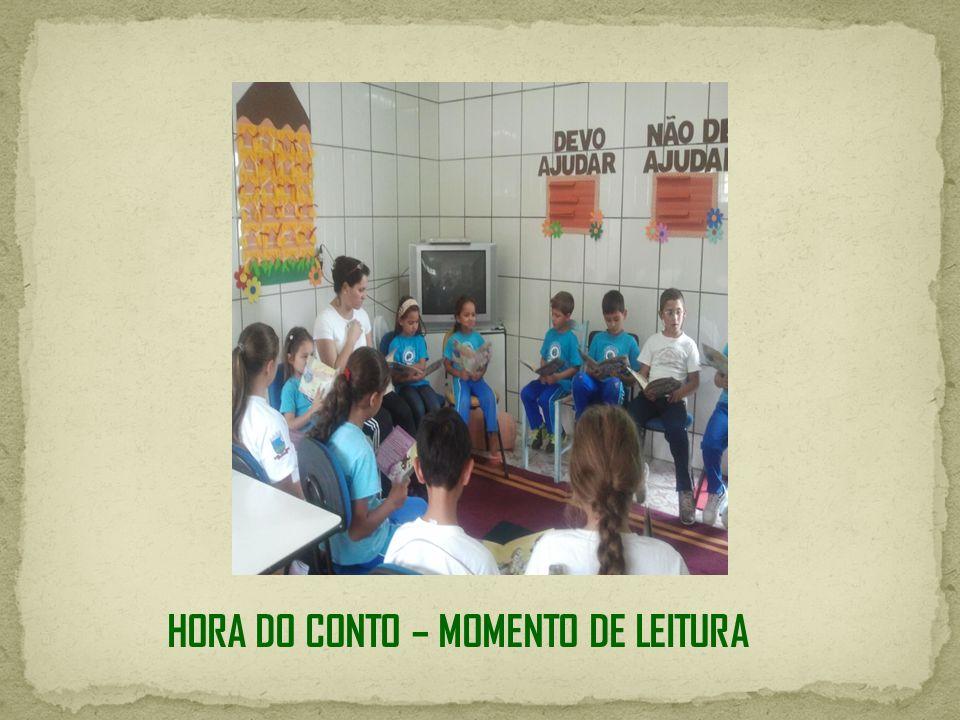 HORA DO CONTO – MOMENTO DE LEITURA