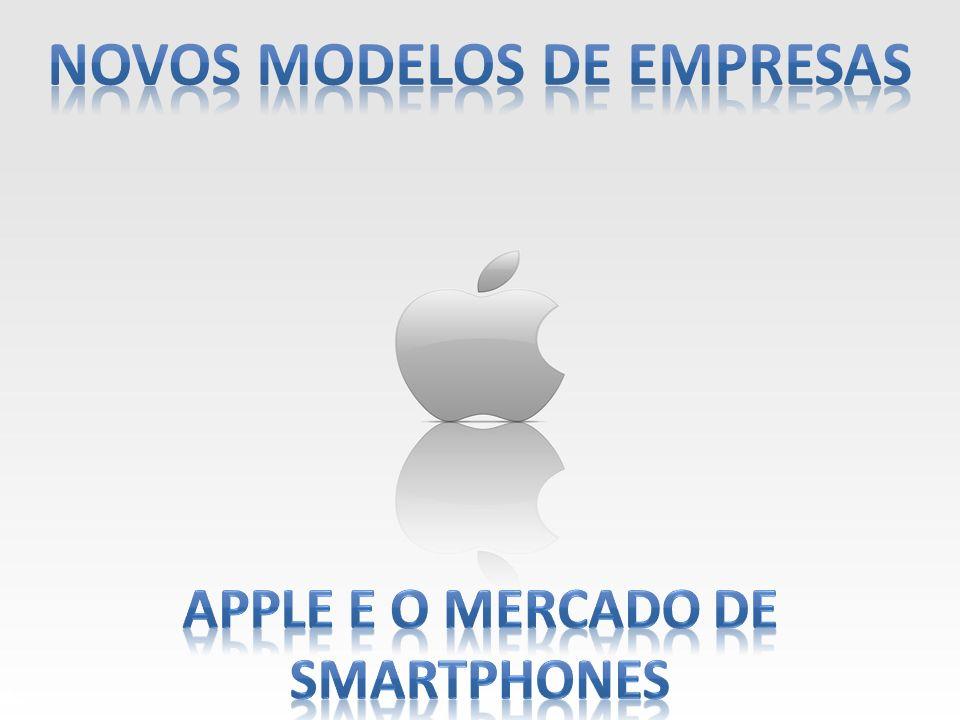 Novos modelos de empresas Apple e o mercado de smartphones
