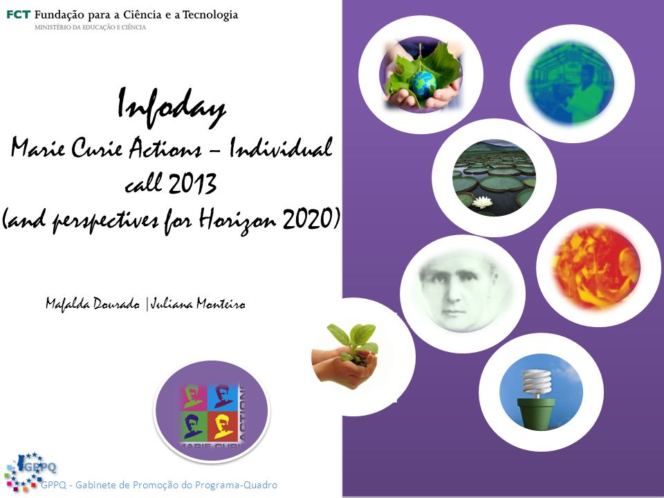 Infoday Marie Curie Actions – Individual call 2013