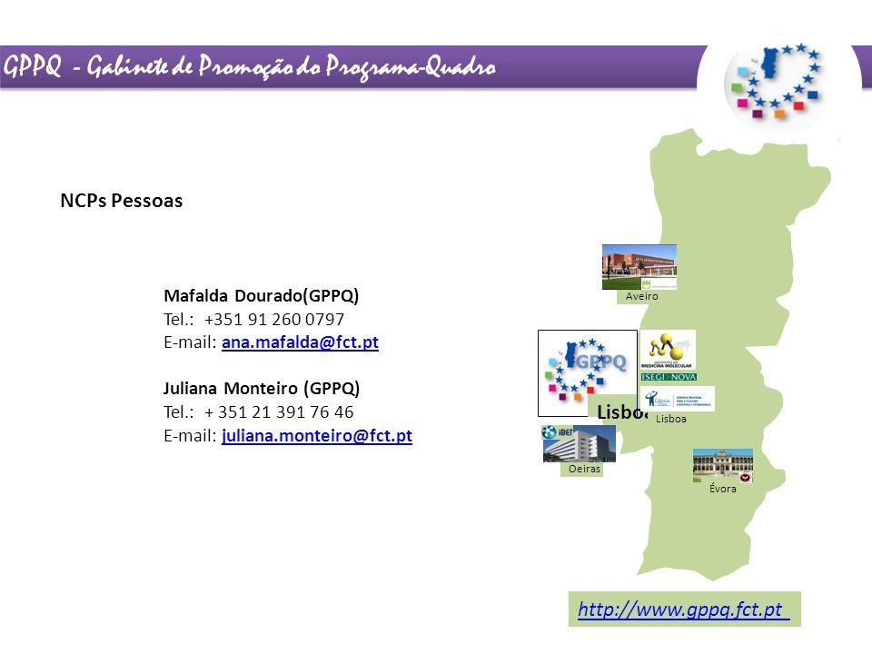 GPPQ - Gabinete de Promoção do Programa-Quadro
