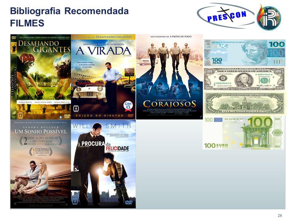 Bibliografia Recomendada FILMES