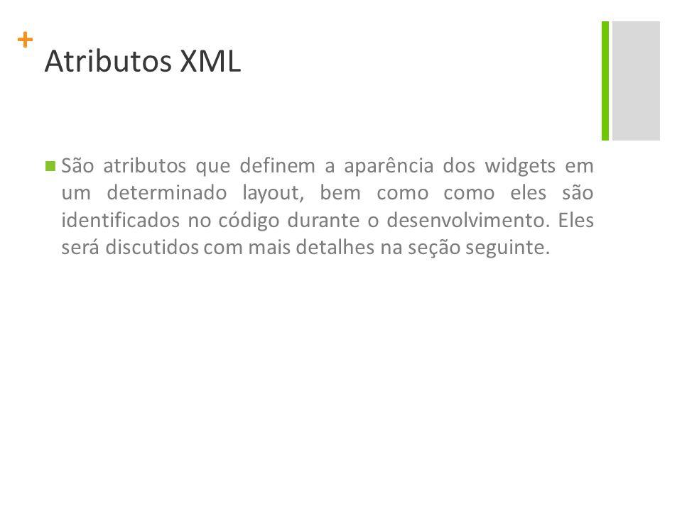 Atributos XML