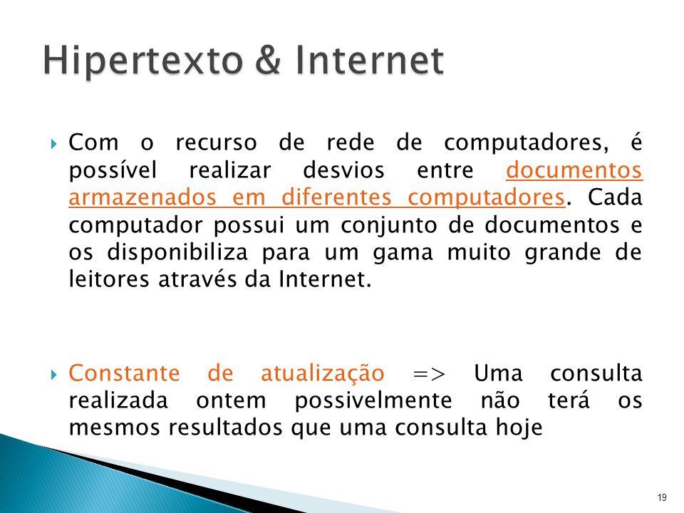Hipertexto & Internet