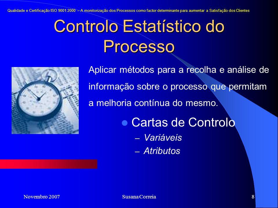 Controlo Estatístico do Processo