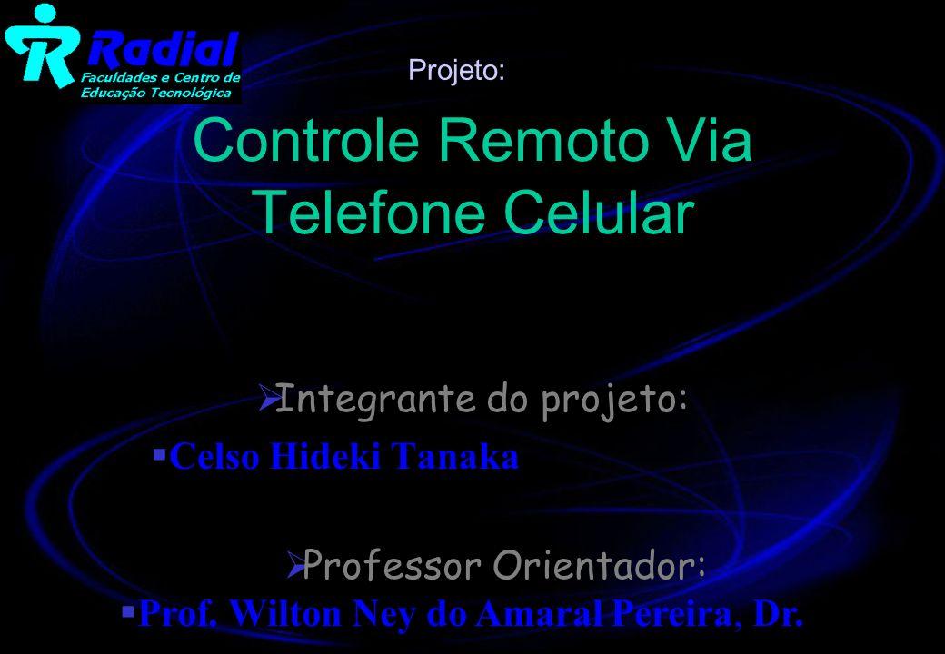 Controle Remoto Via Telefone Celular