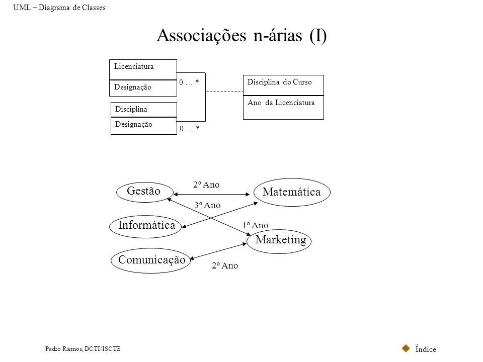 Associações n-árias (I)
