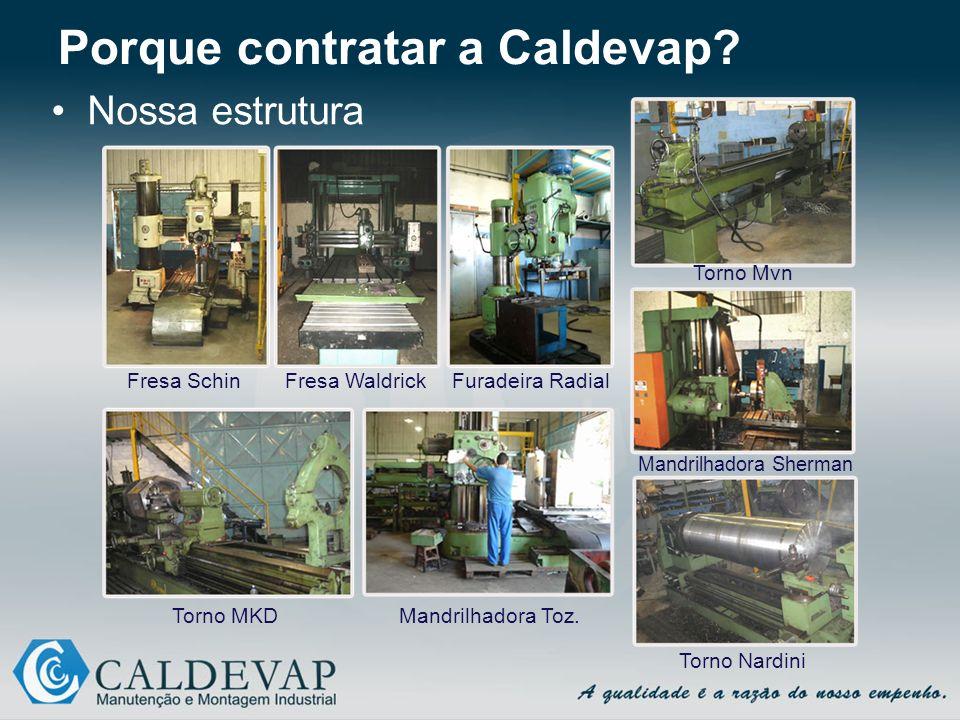 Porque contratar a Caldevap