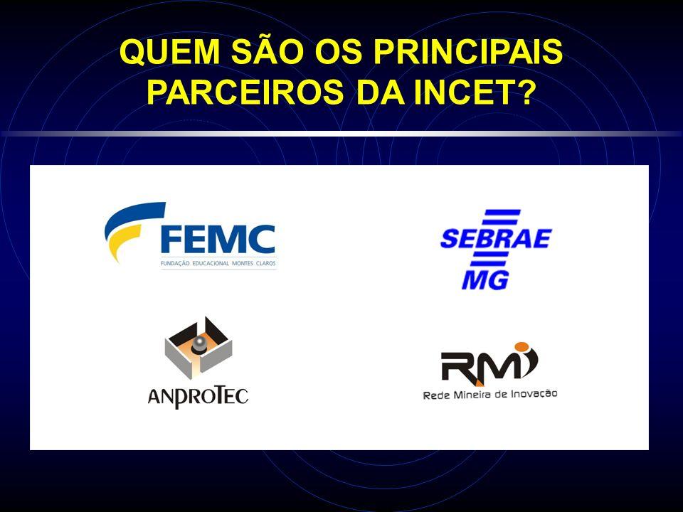 QUEM SÃO OS PRINCIPAIS PARCEIROS DA INCET