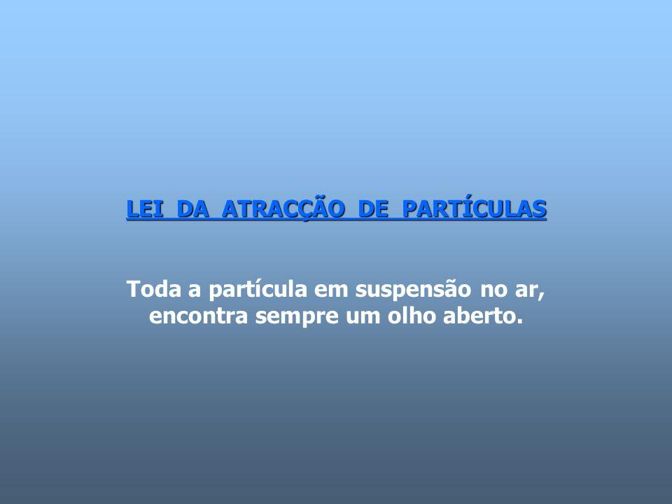 LEI DA ATRACÇÃO DE PARTÍCULAS