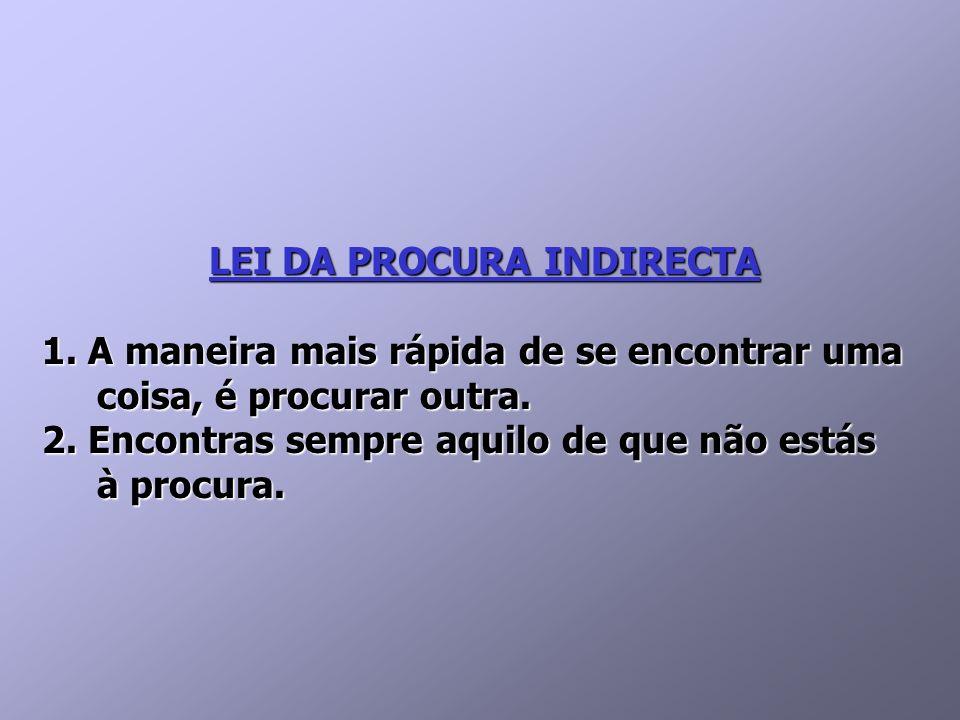 LEI DA PROCURA INDIRECTA