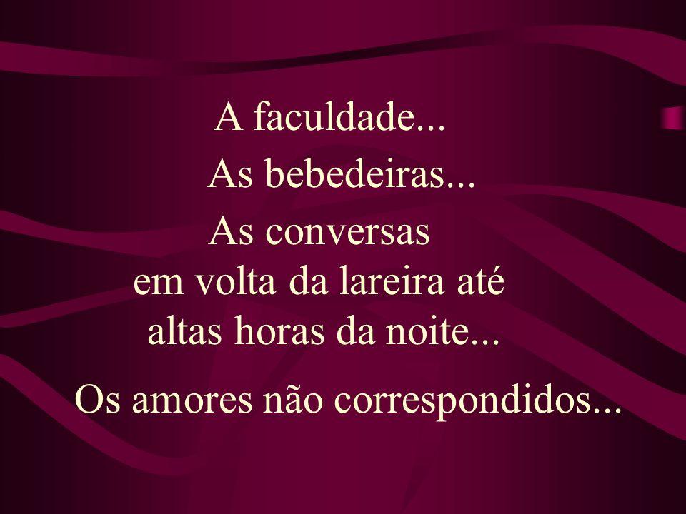 Os amores não correspondidos...