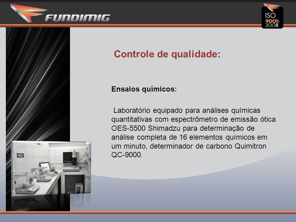 Controle de qualidade: