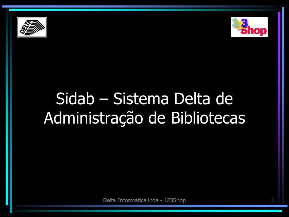 Sidab – Sistema Delta de Administração de Bibliotecas