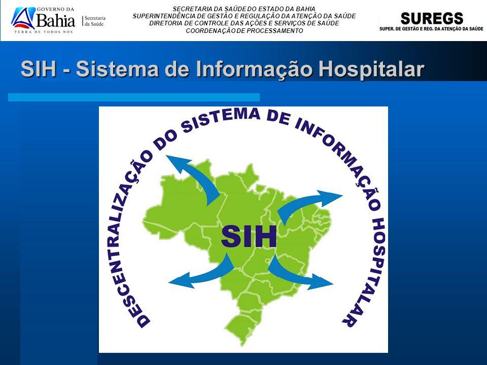 SIH - Sistema de Informação Hospitalar