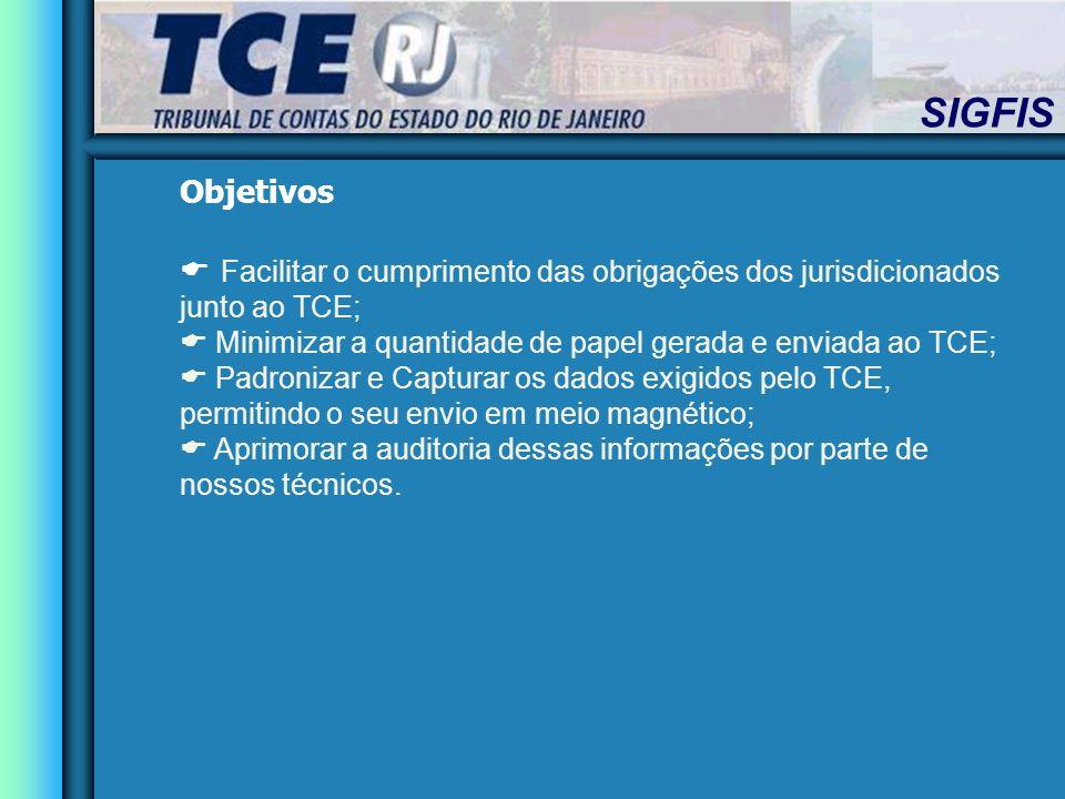 Objetivos Facilitar o cumprimento das obrigações dos jurisdicionados junto ao TCE; Minimizar a quantidade de papel gerada e enviada ao TCE;