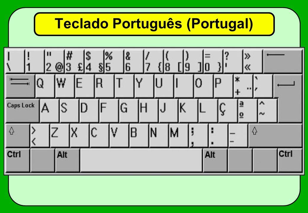 Teclado Português (Portugal)