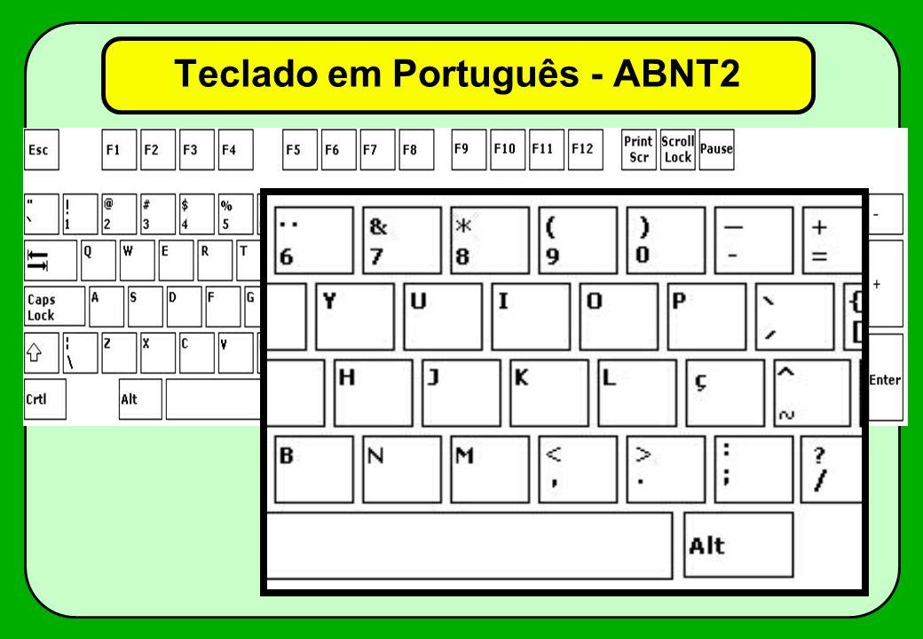 Teclado em Português - ABNT2