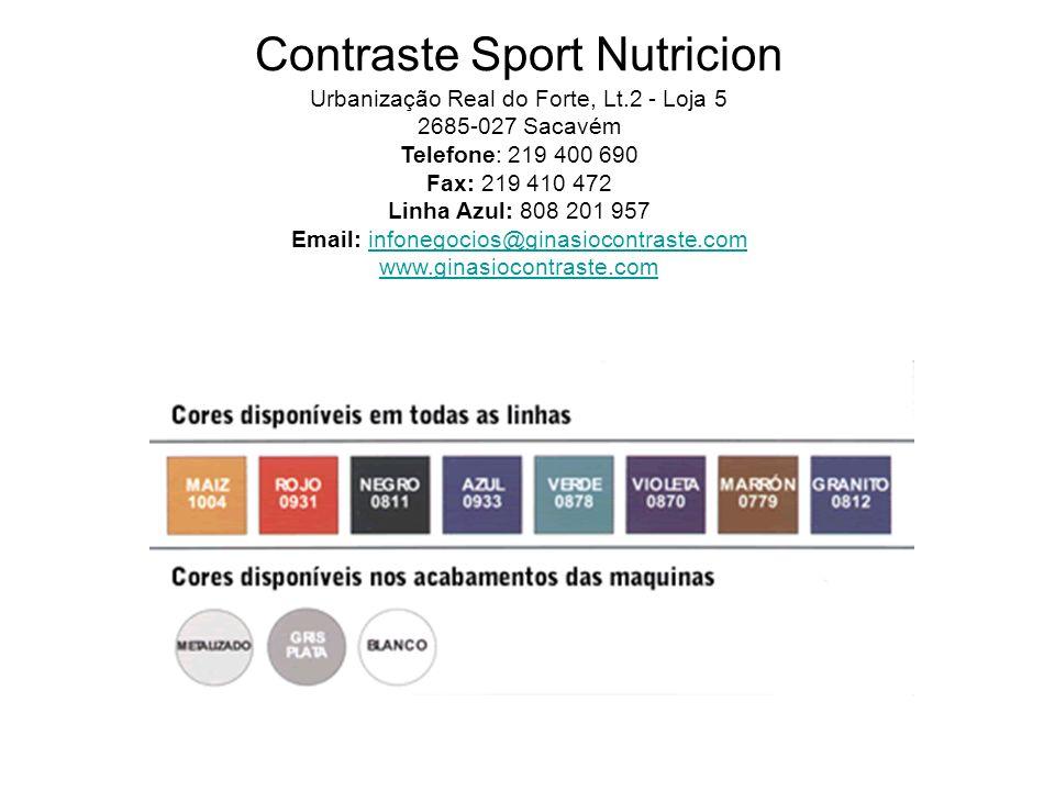 Contraste Sport Nutricion Urbanização Real do Forte, Lt
