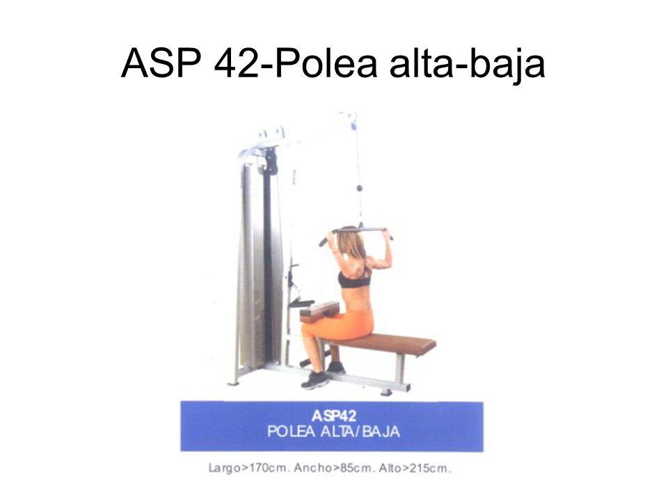 ASP 42-Polea alta-baja