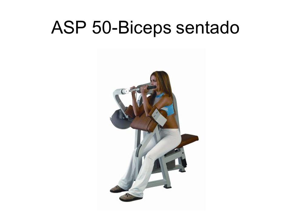 ASP 50-Biceps sentado