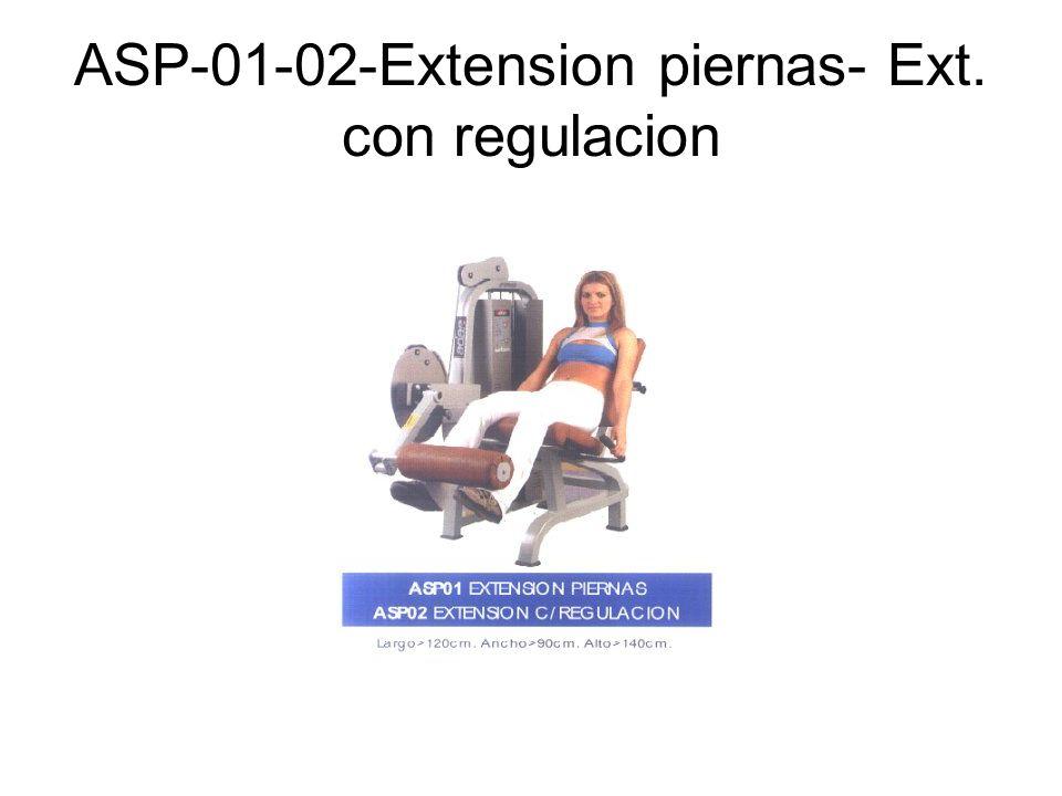 ASP-01-02-Extension piernas- Ext. con regulacion