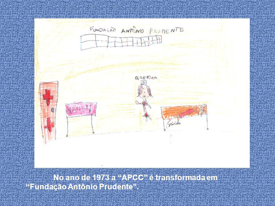 No ano de 1973 a APCC é transformada em Fundação Antônio Prudente .