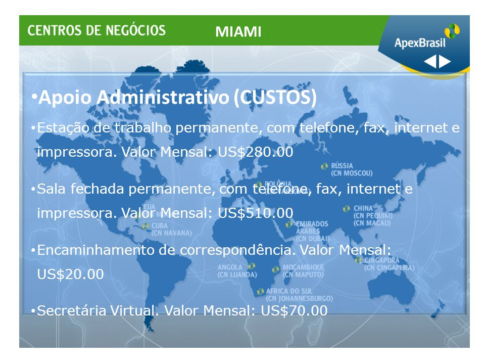 Apoio Administrativo (CUSTOS)