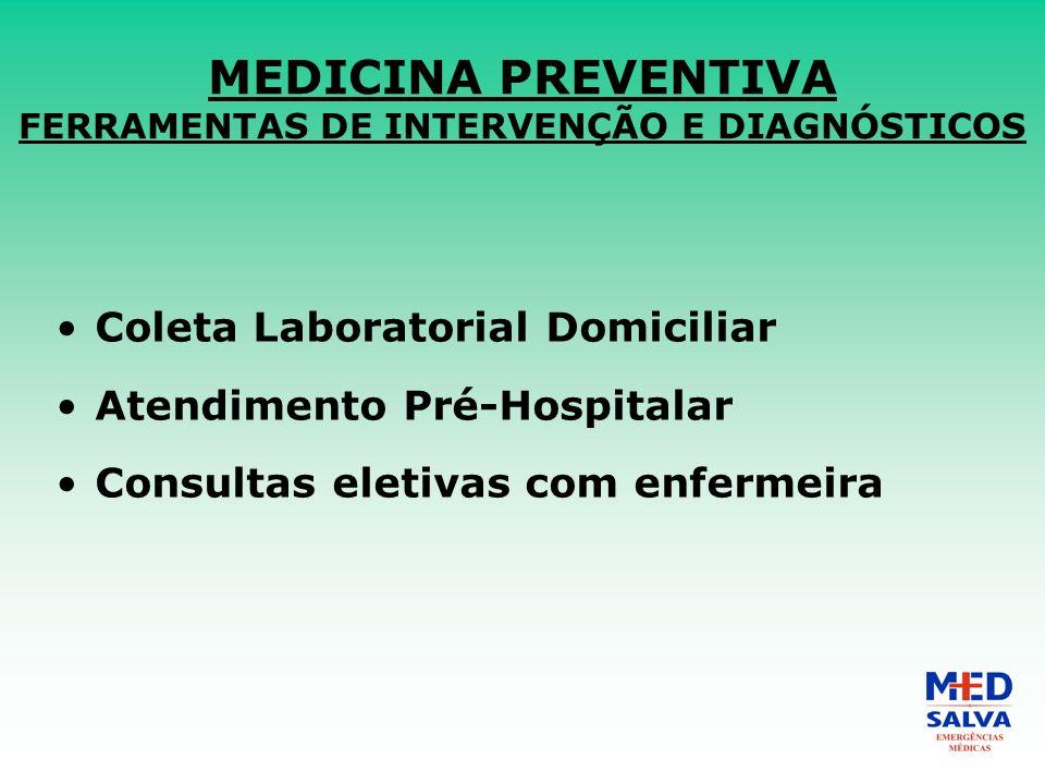 MEDICINA PREVENTIVA FERRAMENTAS DE INTERVENÇÃO E DIAGNÓSTICOS