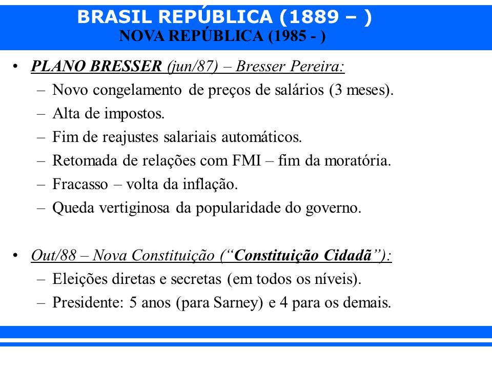 PLANO BRESSER (jun/87) – Bresser Pereira:
