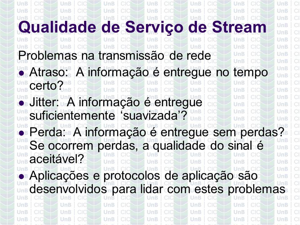 Qualidade de Serviço de Stream