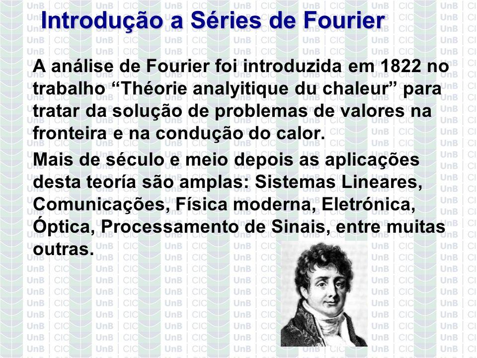 Introdução a Séries de Fourier