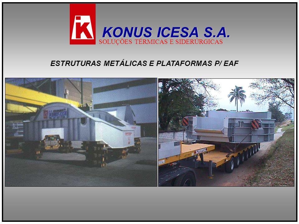 KONUS ICESA S.A. ESTRUTURAS METÁLICAS E PLATAFORMAS P/ EAF