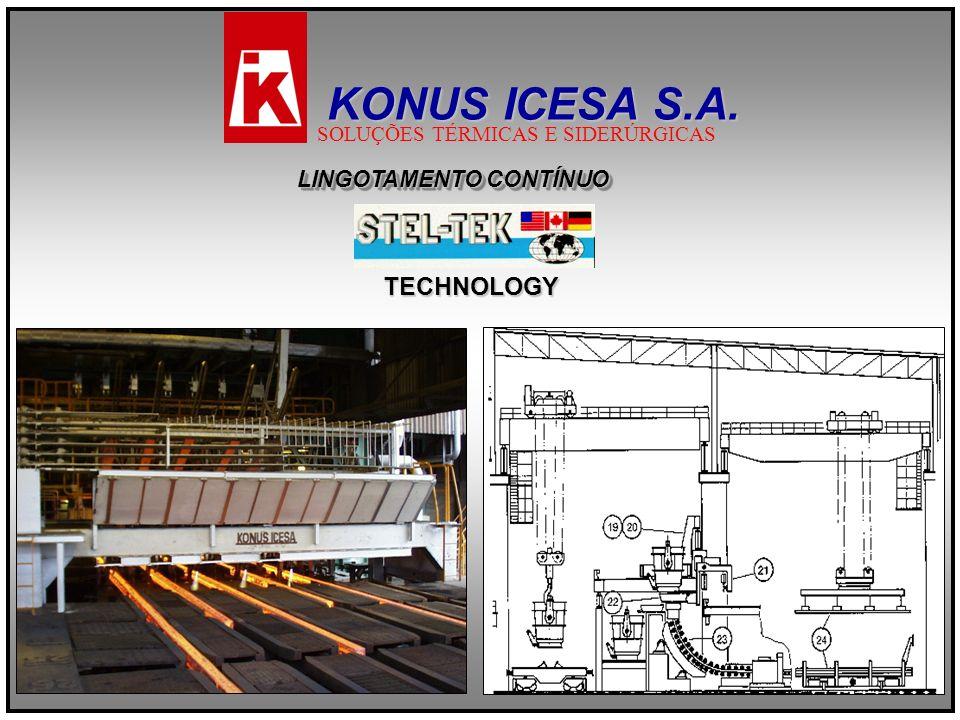 KONUS ICESA S.A. TECHNOLOGY LINGOTAMENTO CONTÍNUO