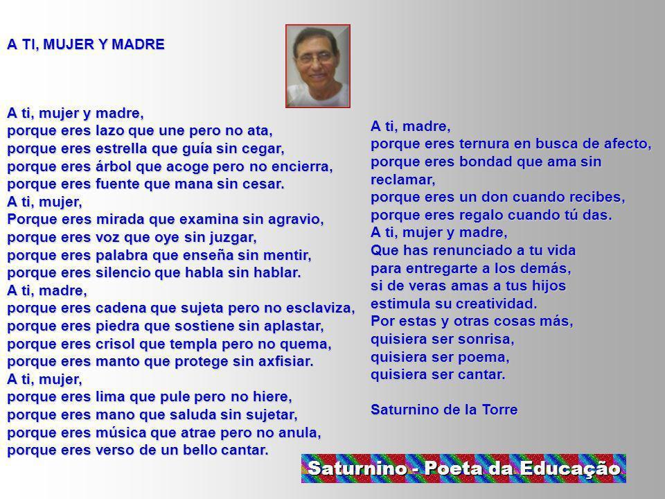Saturnino - Poeta da Educação