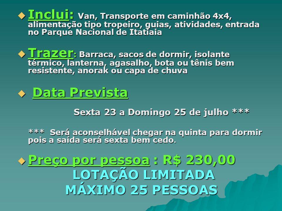 LOTAÇÃO LIMITADA MÁXIMO 25 PESSOAS