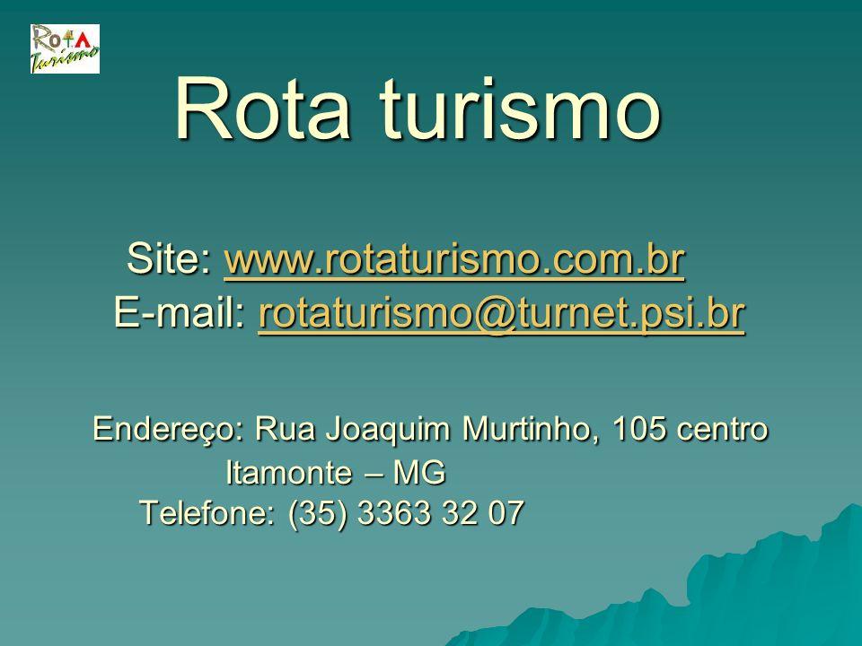 Rota turismo. Site: www. rotaturismo. com