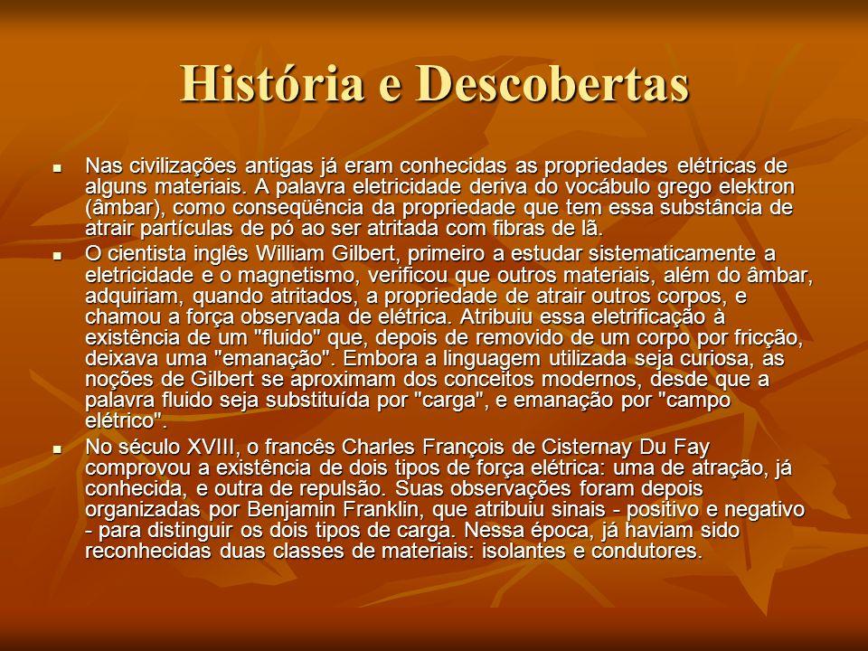 História e Descobertas