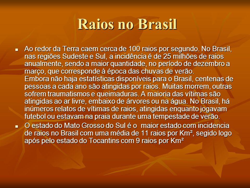 Raios no Brasil