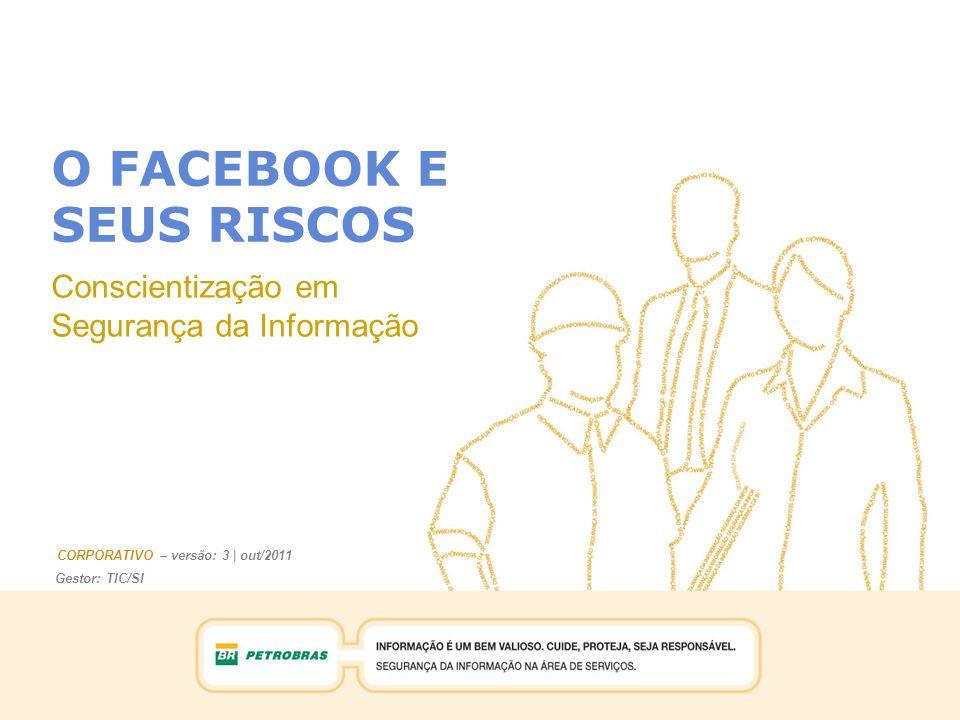 O FACEBOOK E SEUS RISCOS