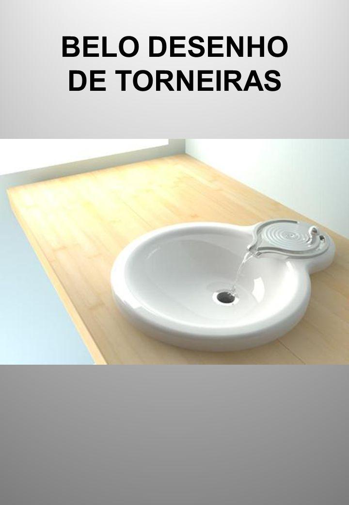 BELO DESENHO DE TORNEIRAS