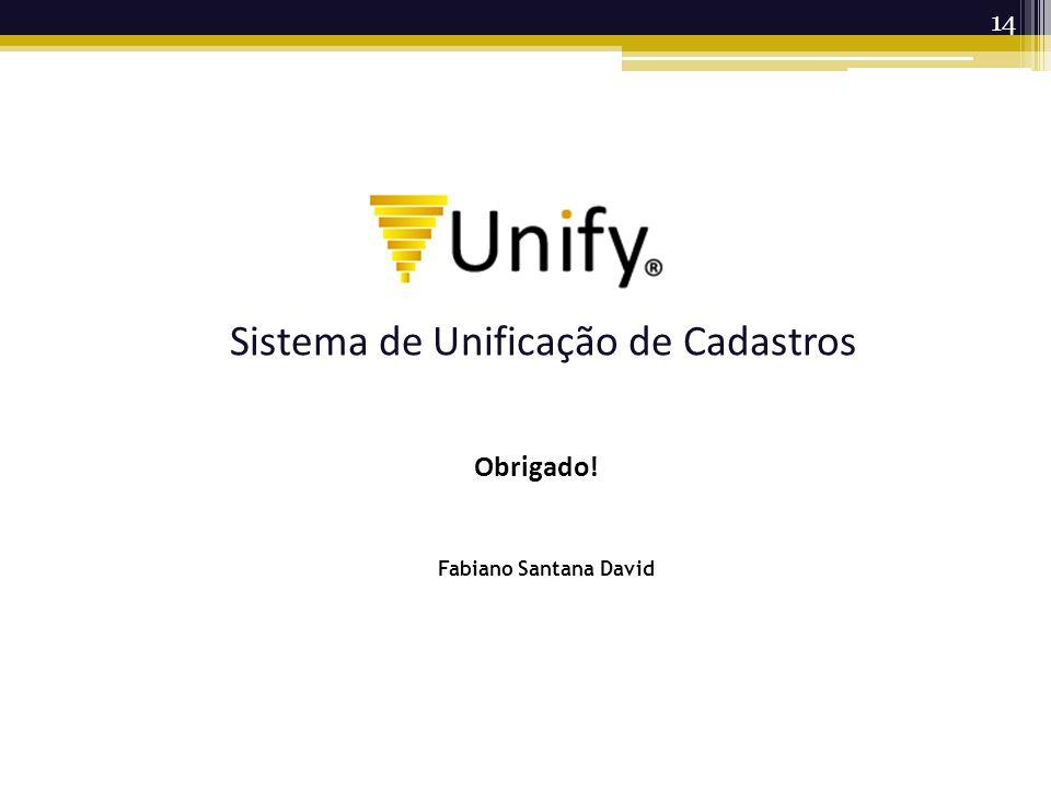 Sistema de Unificação de Cadastros